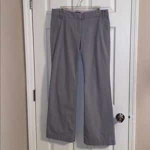 🌸J Crew City Fit Light Gray Pants Size 10R